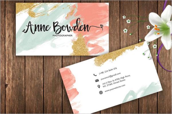Fashion Brand Business Card