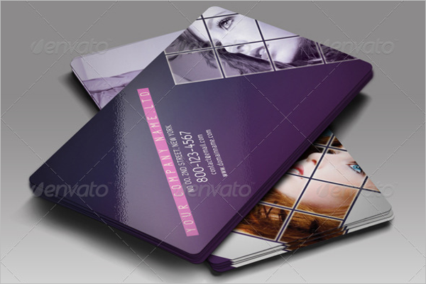Fashion Business Card PSD