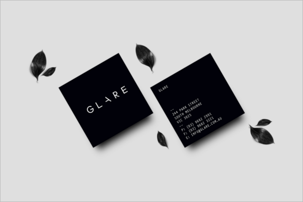 Fashion Business card Mockup