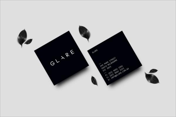Fashion Business card Mockup