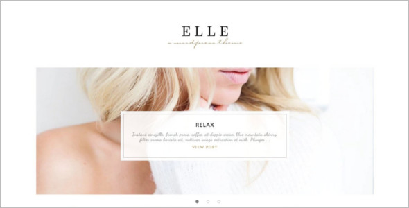 Fashion Landing Page WordPress Theme