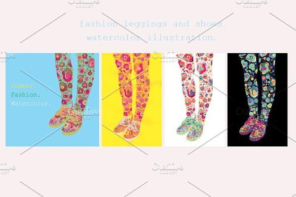Fashion Leggings Mockup