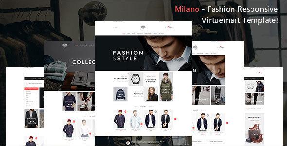 Fashion Responsive Virtuemart Template