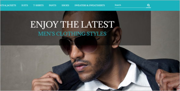 Fashion Store Free Prestashop Template