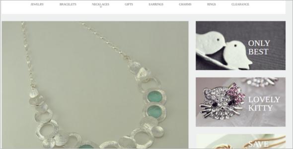 Fashionable Jewelry VirtueMart Theme