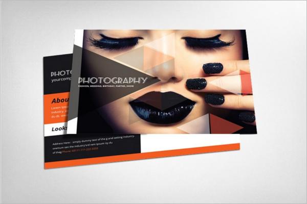 FashionablePhotography Postcard Design