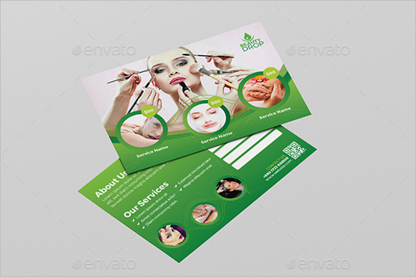 Fashionable Spa Postcard Design