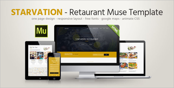 Fast Food Landing Page Theme