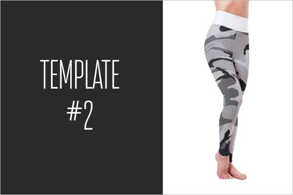 Fitness Legging Mockup Design