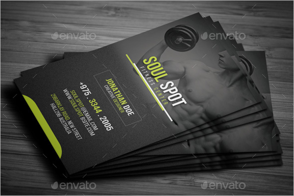 Fitness MemberShip Card Template