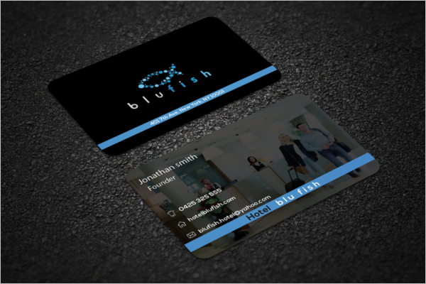 Five Star Hotel Business Card Templates