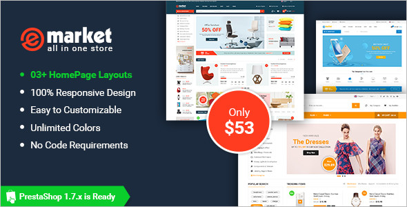Flexible Responsive PrestaShop Theme