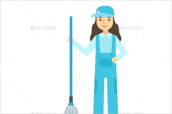 Floor Cleaning Uniform Design