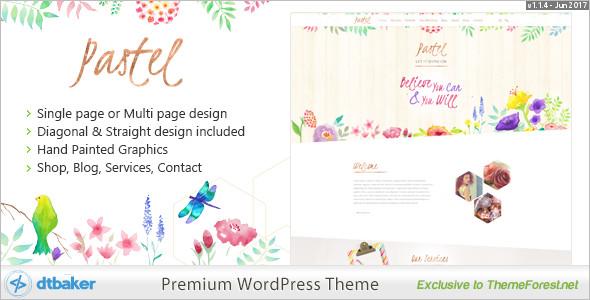 Floral Art WordPress Theme