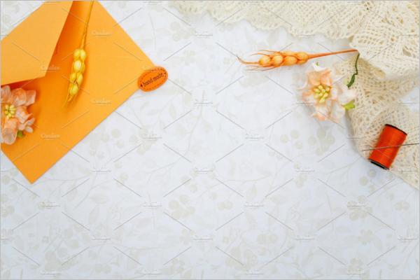 FloralVintage Envelope Design