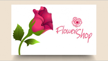 Flower Shop Business Card Templates
