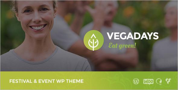 Food Festival WordPress Theme