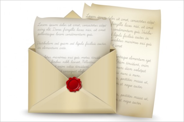 Free Ancient letter Vintage Envelope