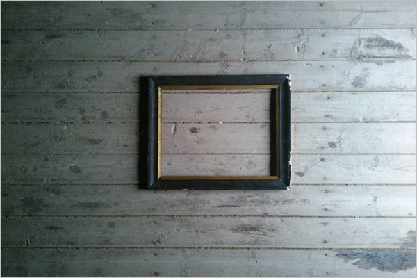 Free Antique Photo Frame Template