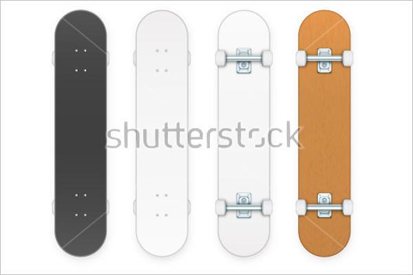 Free BlankSkateboard Design