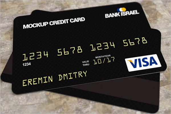 FreeCredit Card Mockup PSD