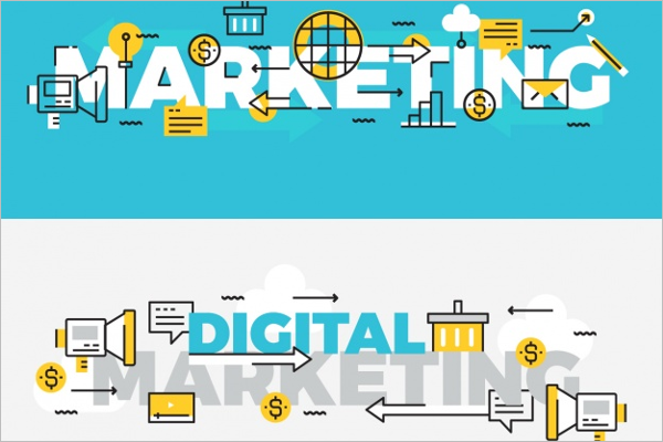 Free Digital Marketing Banner Design