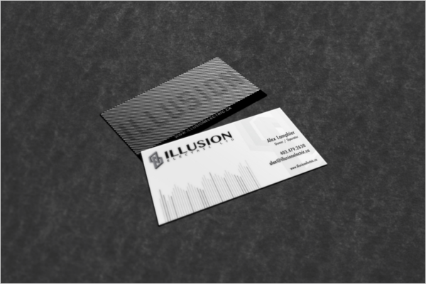 Free Electric Business CardTemplate