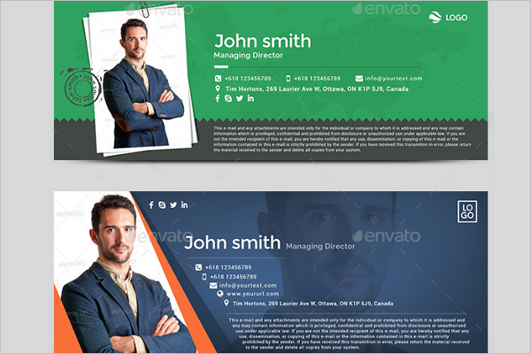 31 email signature templates free premium creative for Free email signature template