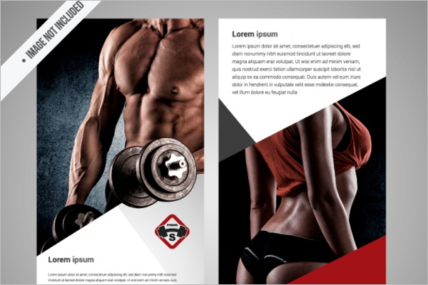 Free GYM Brochure Template