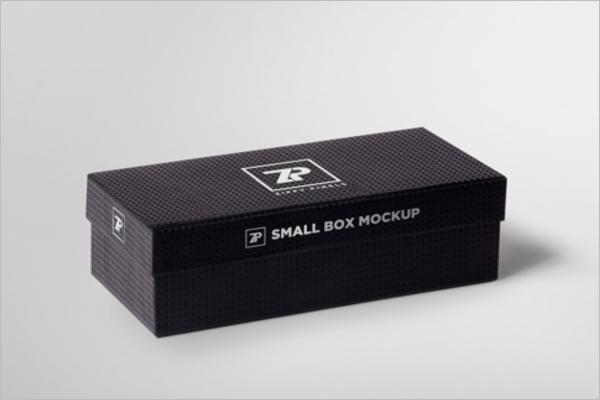Free Gift Box Mockup Design