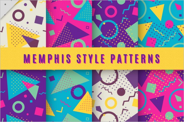 Free Hipster Seamless Pattern