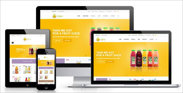 Free Juice Shop Prestashop Theme