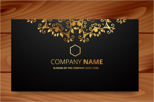 Free Luxury Business Card