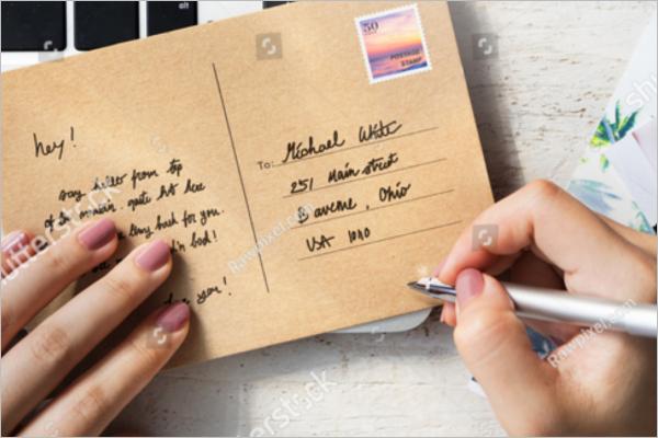 Free Photography Postcard Design