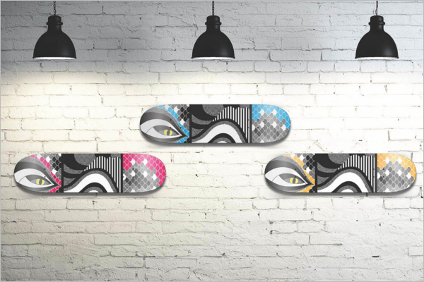 FreeSkateboard Mockup Design