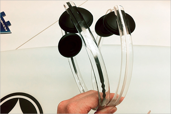 Free Transparent Headphones Design