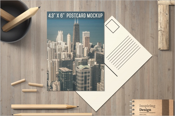 Free Travel Postcard Template