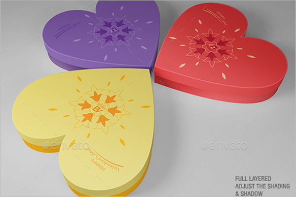 Free Valentine's Day Gift Box Design