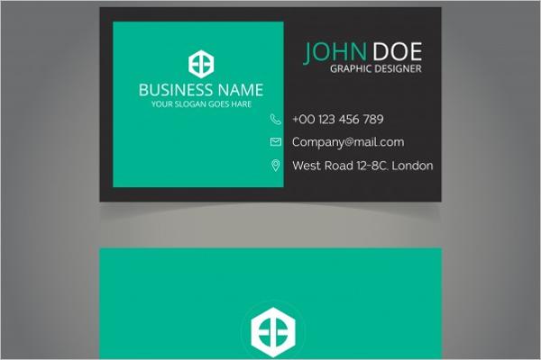 Free Vector artist business card