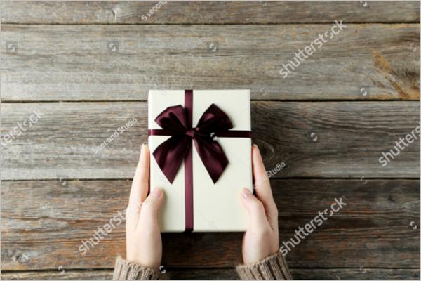 Free Wedding Gift Box Design