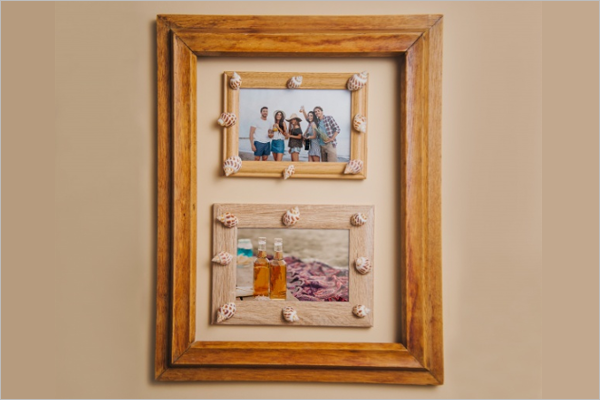 Free Wooden Photo Frame Design