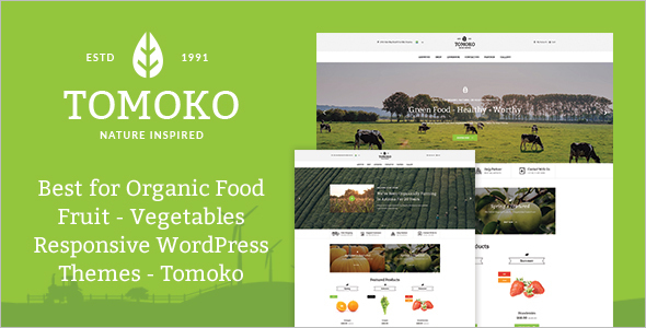 Fruits Farm WordPress Theme