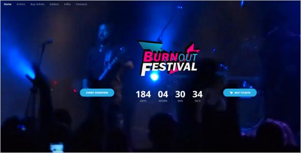Fullscreen EventWordPress Theme