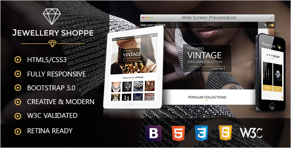 Fully Responsive eCommerce HTML Template
