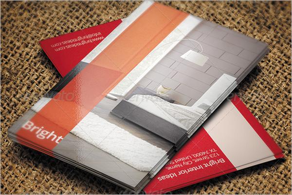 Furniture Interior Design Business Card