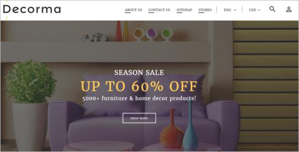 Furniture Responsive PrestaShop 1.7 theme