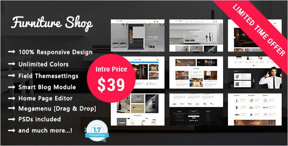 Furniture Shop Prestashop Theme