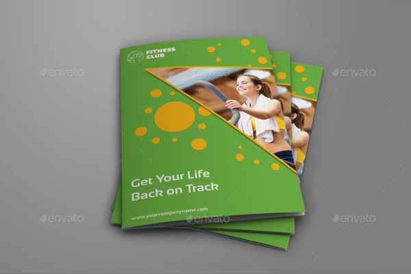GYM Bi-Fold Brochure Template