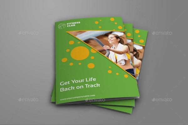 GYM Bi-Fold Brochure Template