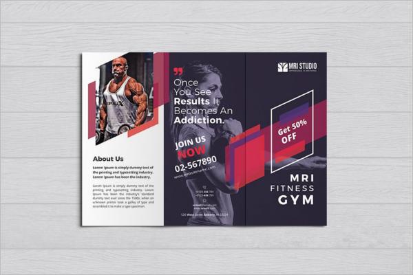 Gym Brochure Templates | Gym Brochure Templates Free Premium Creative Template